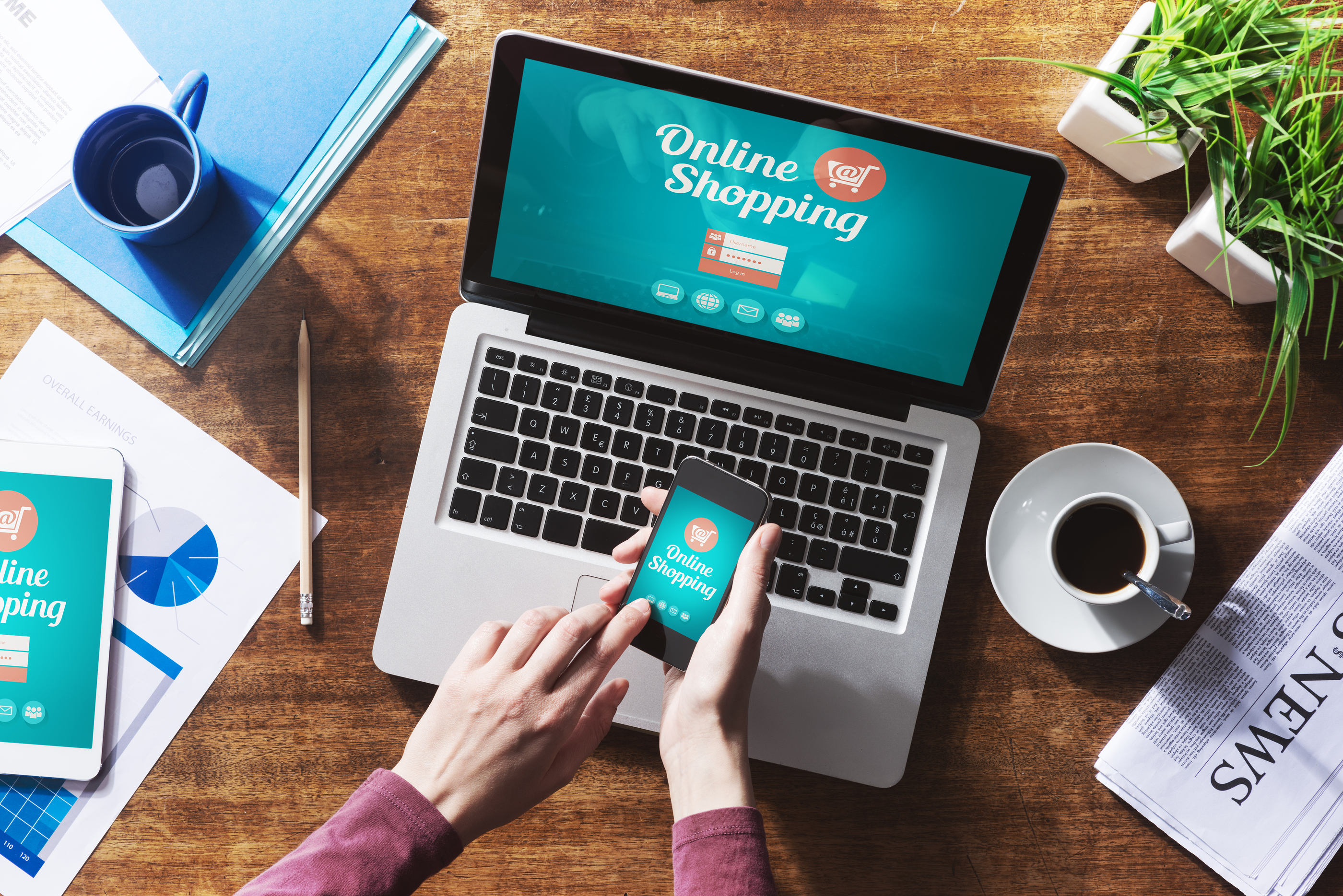 Online Shopping Tips Conduct research: When using a new website for purchases, read reviews and see if other consumers have had a positive or negative experience with the site. When in doubt, throw it out: Links in emails, posts and texts are often how cybercriminals try .